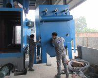 Bảo trì nâng cấp máy phun cát