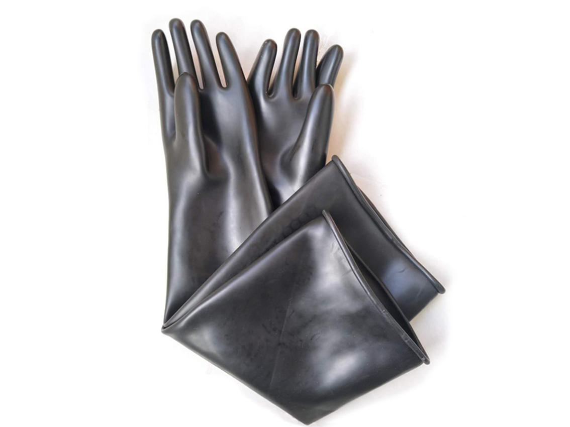 Găng tay cao su0